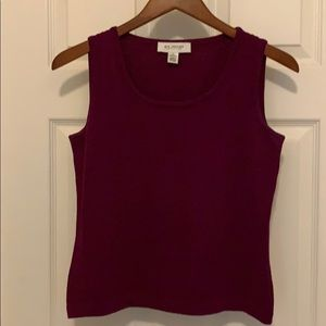 St. John Sleeveless Knit Top